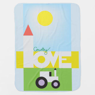 Country Love Baby Blanket