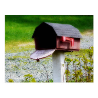 Country Mailbox - We've Moved! Postcard
