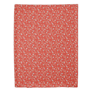 Country Manor Duvet Cover (Coral)
