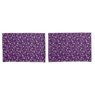 Country Manor Pillowcases (Purple)