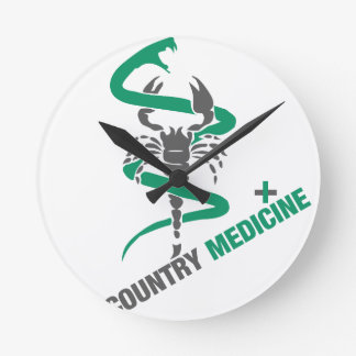 Country Medicine - Snake / Scorpion Clock