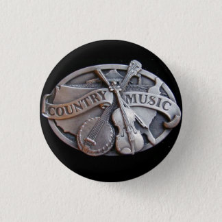 country-music 1 inch round button