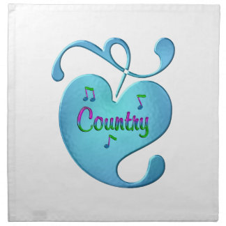 Country Music Love Napkin
