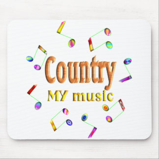 Country Music Lover Mouse Pad