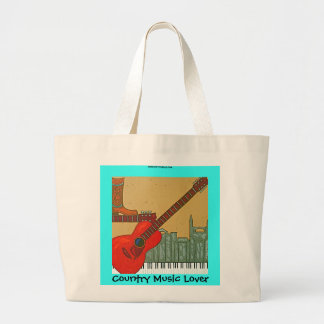 Country Music Lover tote