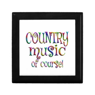 Country Music of Course Gift Box