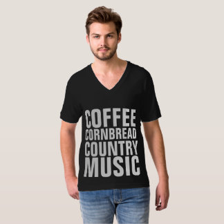 COUNTRY MUSIC T-shirts, COFFEE CORNBREAD T-Shirt