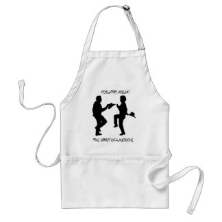 COUNTRY MUSIC THE SPIRIT OF AMERICA-APRON STANDARD APRON
