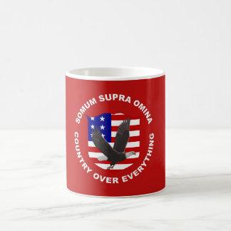 COUNTRY OVER EVERYTHING COFFEE MUG
