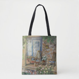 Country Porch Tote Bag