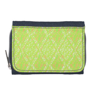 Country-Quilt-Lace-Diamond-Wallet's-Multi-Types! Wallet