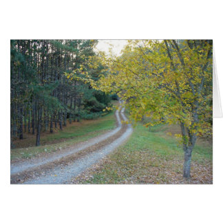 Country Road Card