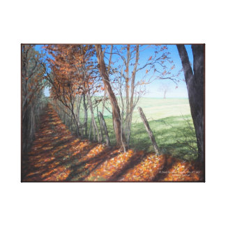 """Country Road"" Fine Art Landscape Canvas Print"