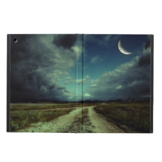 Country road leading to the church iPad air cover