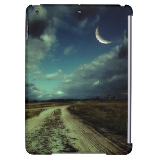 Country road leading to the church iPad air covers
