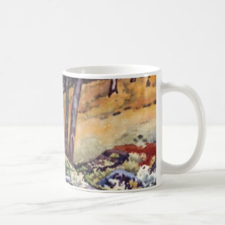 Country Road Mug rural open woodland fields
