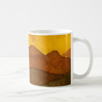 Country Road Mug rural sunrise sunset rocky hills