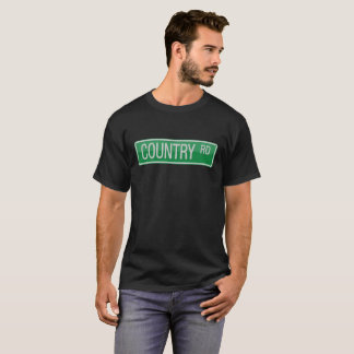 Country Road street sign T-Shirt