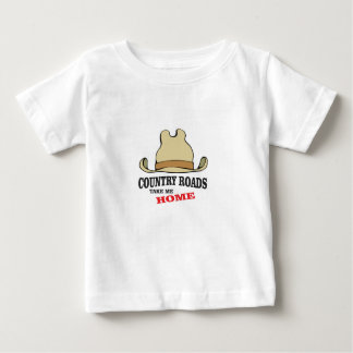 country roads take me home dude baby T-Shirt