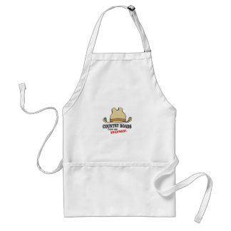 country roads take me home dude standard apron