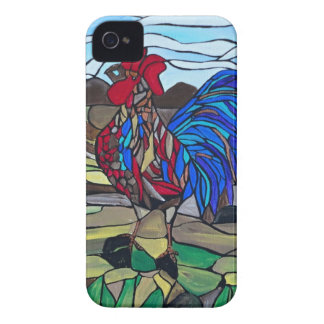Country rooster Case-Mate iPhone 4 cases