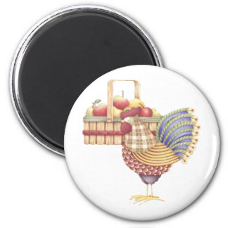 country rooster Magnet