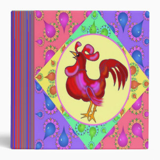 Country Rooster Recipe Binder