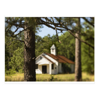 Country School Postcard