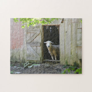 Country Sheep Jigsaw Puzzle