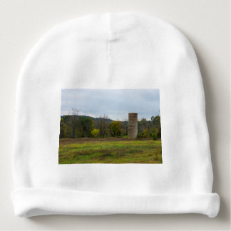 Country Silo Landscape Baby Beanie