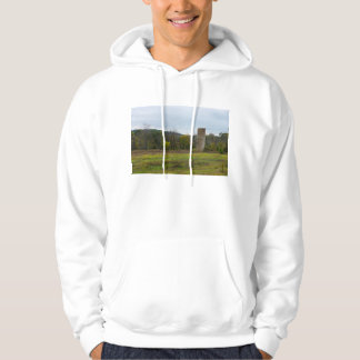 Country Silo Landscape Hoodie