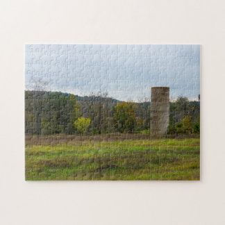 Country Silo Landscape Jigsaw Puzzle