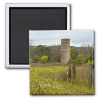 Country Silo Magnet