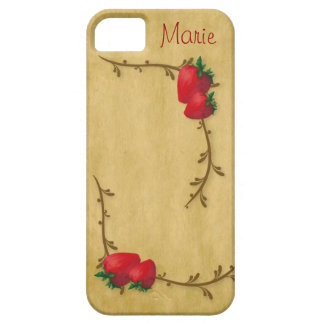Country Strawberries iPhone 5 Case