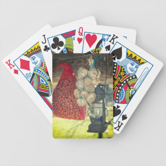 Country stuff bicycle playing cards