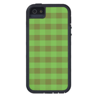 Country-style Green Check iPhone 5 5s Xtreme Case iPhone 5/5S Case