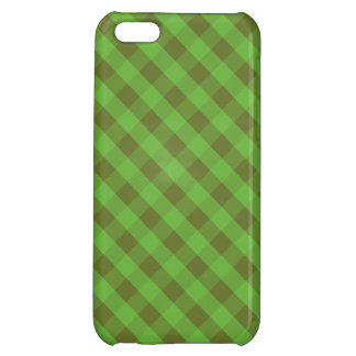 Country-style Green Gingham iPhone 5c Savvy Case iPhone 5C Cases