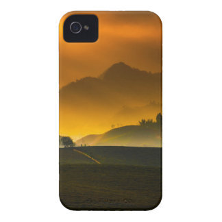 Country sunset iPhone 4 cover