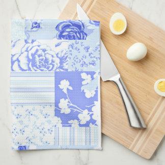 Country Sweet Cornflower Blue Kitchen Towel