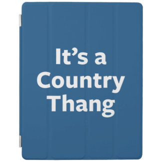 Country Thang iPad Cover