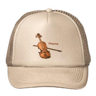 Country Violin custom name hat
