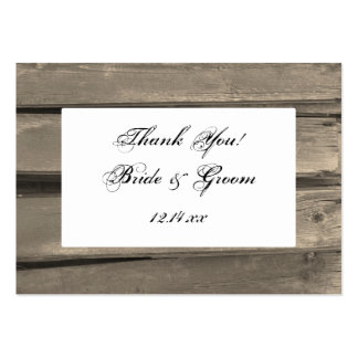 Country Wedding Favor Tags Business Card