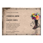 Country Western Barbed Wire Invitation