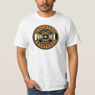 Country Western Music T-Shirt