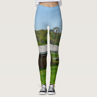 Country Windmill Leggings