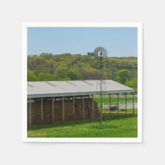 Country Windmill Paper Napkin