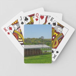 Country Windmill Playing Cards
