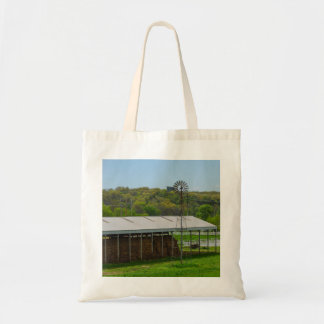 Country Windmill Tote Bag