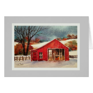 Country Winter Card