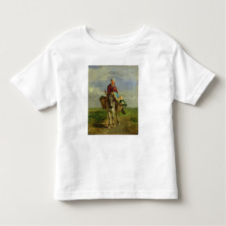 Country Woman Riding a Donkey Toddler T-shirt